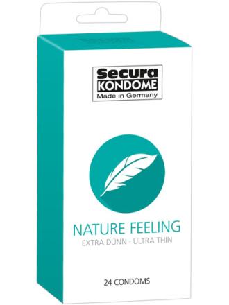 Secura: Nature Feeling, Kondomer, 24-pack