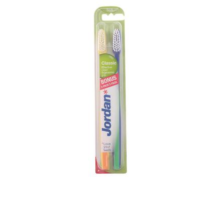 Jordan klassiske Cepillo Dental Suave 2 enheter Unisex ny forseglet...