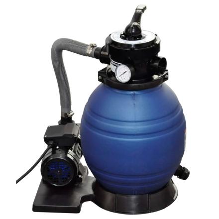 vidaXL sandfilterpumpe 400 W 11000 l/t