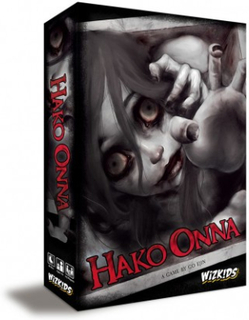 Hako Onna - Horror Hide And Seek - Board Game - Sällskapsspel