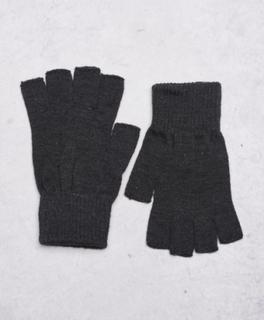 Vitus Cut Off Gloves 0025 Dk grey melange