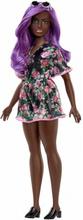 Barbie Fashionistas Doll 125 Mörkhyad Docka Med Lila Hårfärg