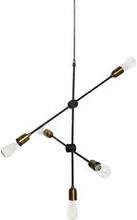 Lamp Molecular plated