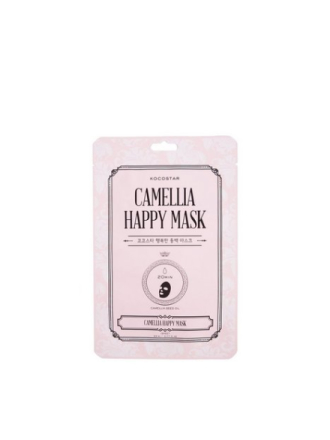 Kocostar Camellia Happy Mask Transparent