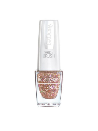 Isadora Holographic Glitter Nails Bronze
