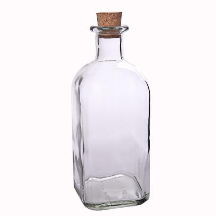 Fyrkantig flaska 1000 ml