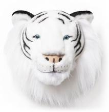 Brigbys Djurhuvud Tigerhuvud (Vit)