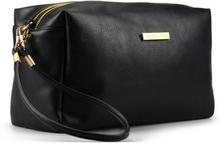 Gillian Jones Black Cosmetic Bag 10454-00