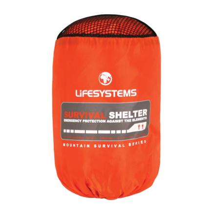 Lifesystems Survival Shelter 2 Första hjälpen OneSize