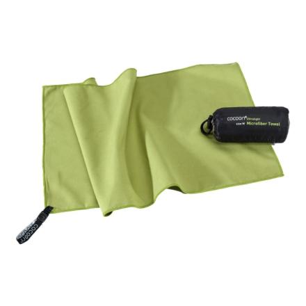 Cocoon Microfiber Towel Ultralight S Herr Toalettartikel Grön OneSize