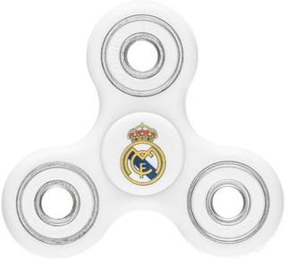 Real Madrid Fidget Spinner - Hvid