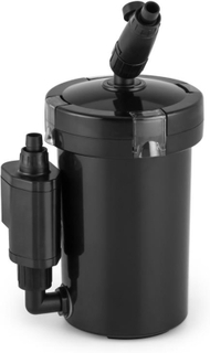 Clearflow 6UVL Akvarium Ytterfilter 6W 4-nivås-filter 400 l/h