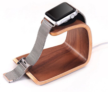 Universal Samdi Real Tre U-Formet Phone Holder- Valnøtt Wood