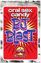 BJ Blast - Oralsex-Smak Med Effekt - Körsbär