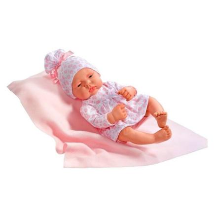 Asi dukke Lucia med tæppe - 42 cm - LykkeLeg