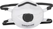 Kreator støvmasker FFP3, ventil - 2 stk.