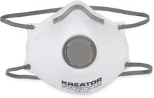 Kreator støvmasker FFP2, ventil - 2 stk.