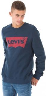Levis SWEAT NOS BATWI Blå Tröjor/Cardigans till Tjej