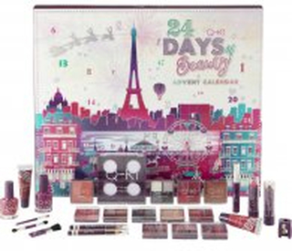 Q-KI 24 Days of Beauty Paris Advent Calendar 26 Pieces