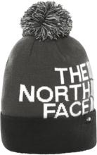 The North Face J Ski Tuke Beanie Lasketteluvaatteet ASPHALT GREY/WHITE