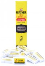 Feather Dubbelrakblad 10-pack