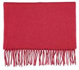 Scarf Wool Dark Red