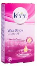 Veet Cold Wax Strips Suprem'Essence Bikini & Underarm