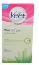 Veet For Men Cold Wax Strips - Hårborttagning