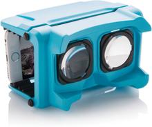VR brille - Virtual reality glasses (Blå)