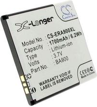 Sony Ericsson C1904, 3.7(3.6V), 1700 mAh