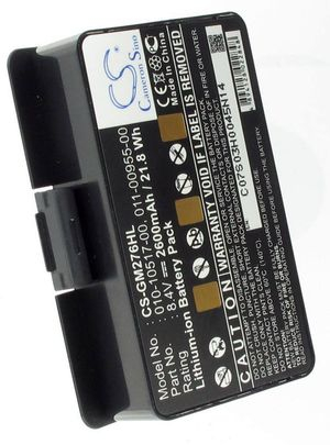 Garmin GPSMAP 276c, 8.4V, 2600 mAh