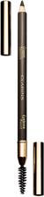 Clarins Crayon Sourcils Eyebrow Pencil Long Wearing, 01 Dark Brown Clarins Øyenbrynsmakeup