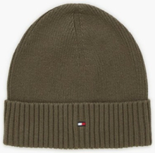 Tommy Hilfiger Pima Cotton Beanie Pipot Green