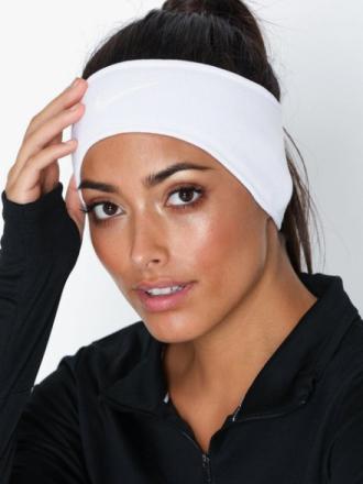 Nike Warm CL Headband Pannband & Armband Vit/grå