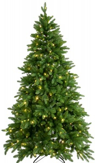 Konstgjord julgran, inkl lampor (210 cm)