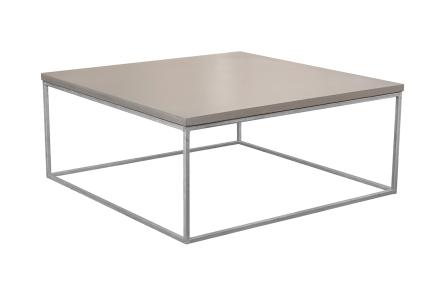 Mystic soffbord Betong/galvat kub 100x100 cm