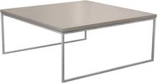 Mystic soffbord Betong/galvat halvkub 90x90 cm