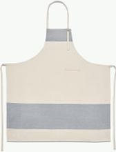 Stripes förkläde Whisper white/light grey