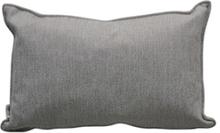 Selected prydnadskudde Vit/grå 32x52 cm