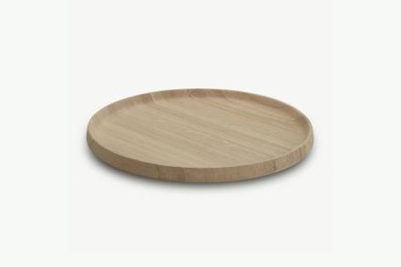 Nordic serveringsbricka Oak Ø45 cm