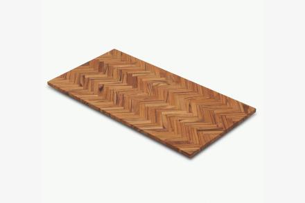 Sild skärbräda & bricka Teak 49x24,5 cm