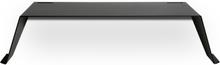 DESK01 väggskrivbord Svart 140x50 cm