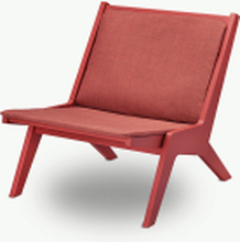 Miskito loungestol Scarlet red