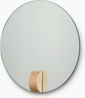 Fullmoon spegel Ash Ø30 cm