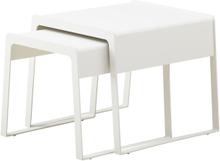 Chill-out sidobord (liten & stor) Vit 43x51 cm