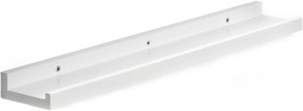 Zitti tavelhylla Vitlack 60x10 cm