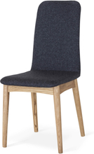 Scandi stol oljad ek grå