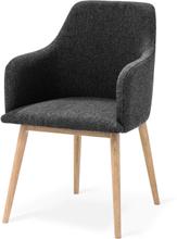 My stol Oljad ek/mörkgrå