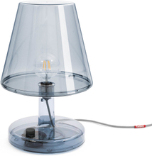 Trans-parents bordslampa Grey