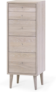 Nordik byrå Vitoljad ek 38x39 cm